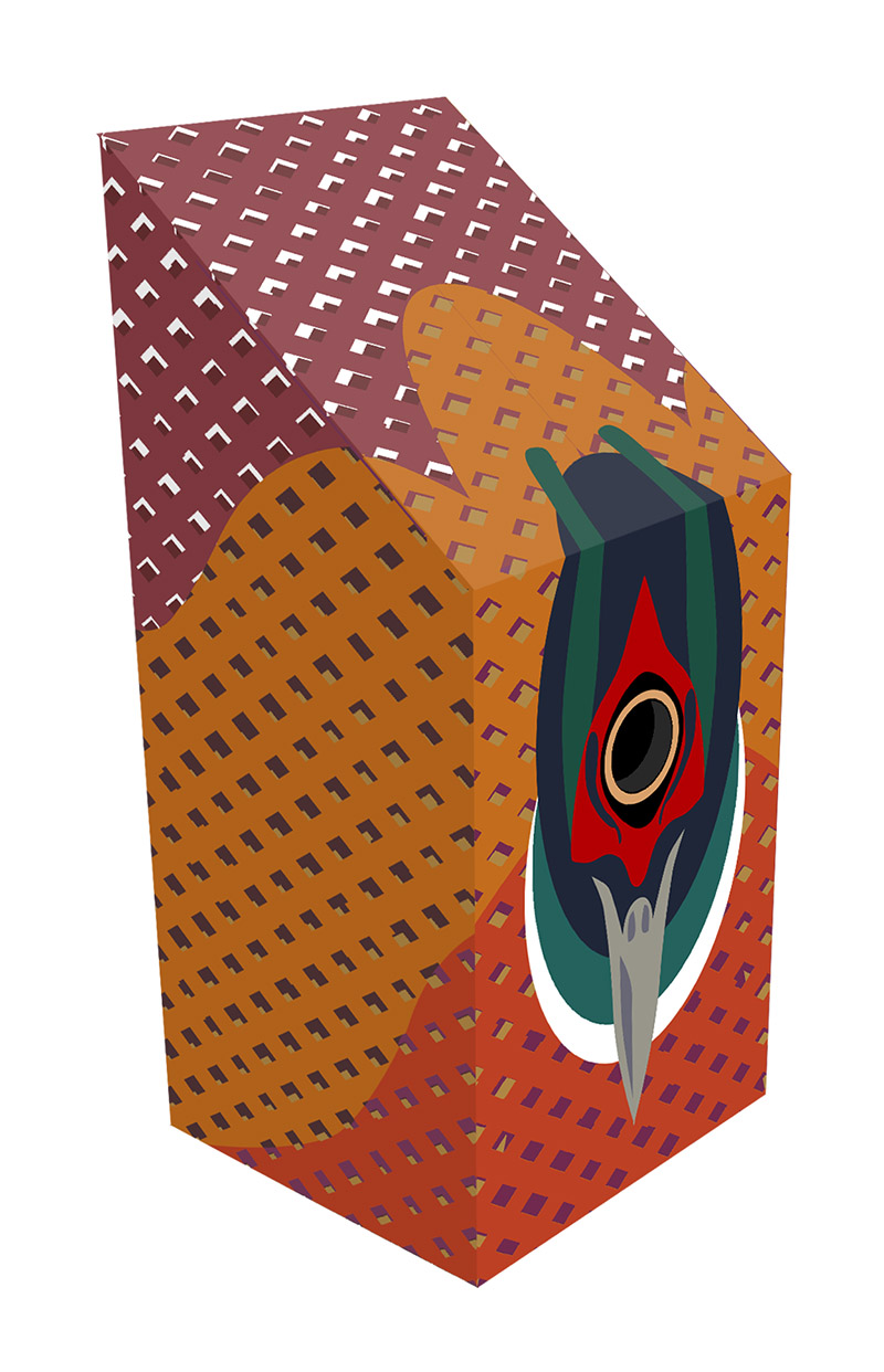 Pheasant nest box design