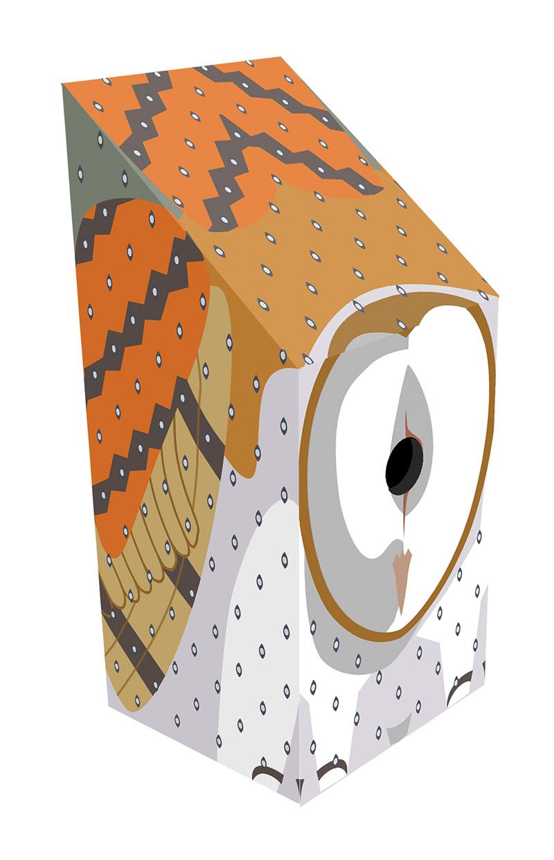 Owl nest box design