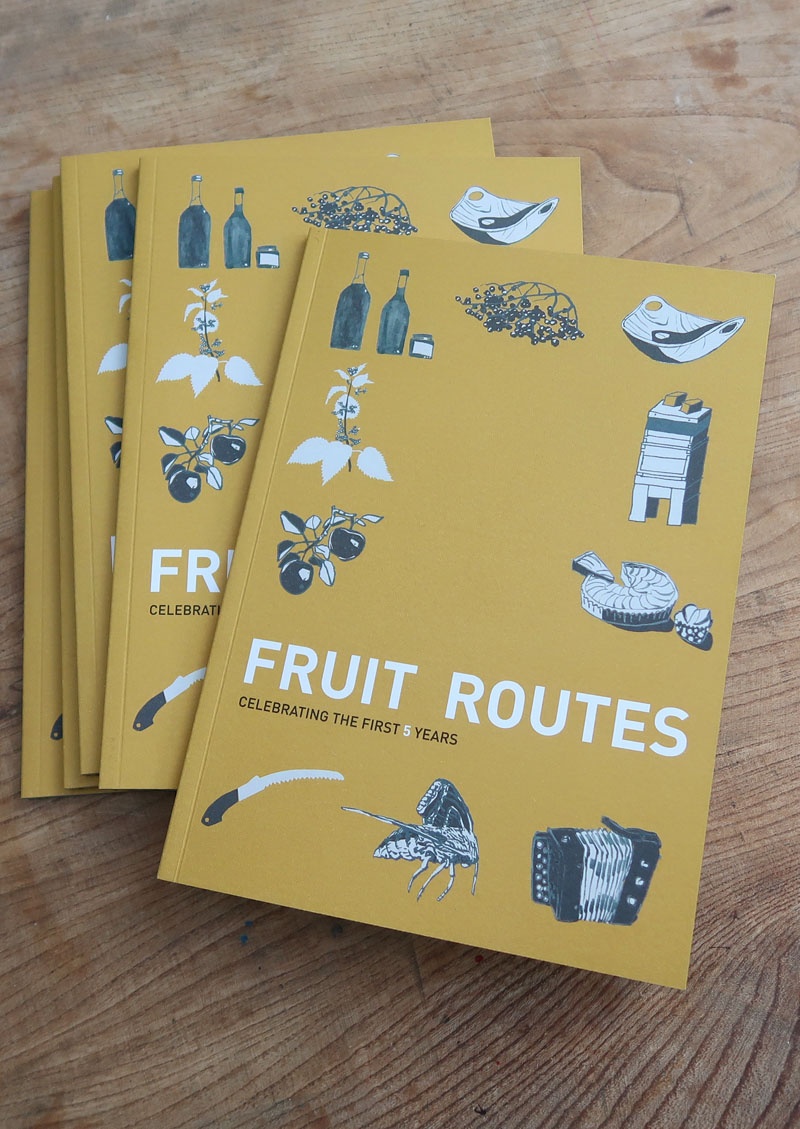 Fruit Routes Book 5 Years