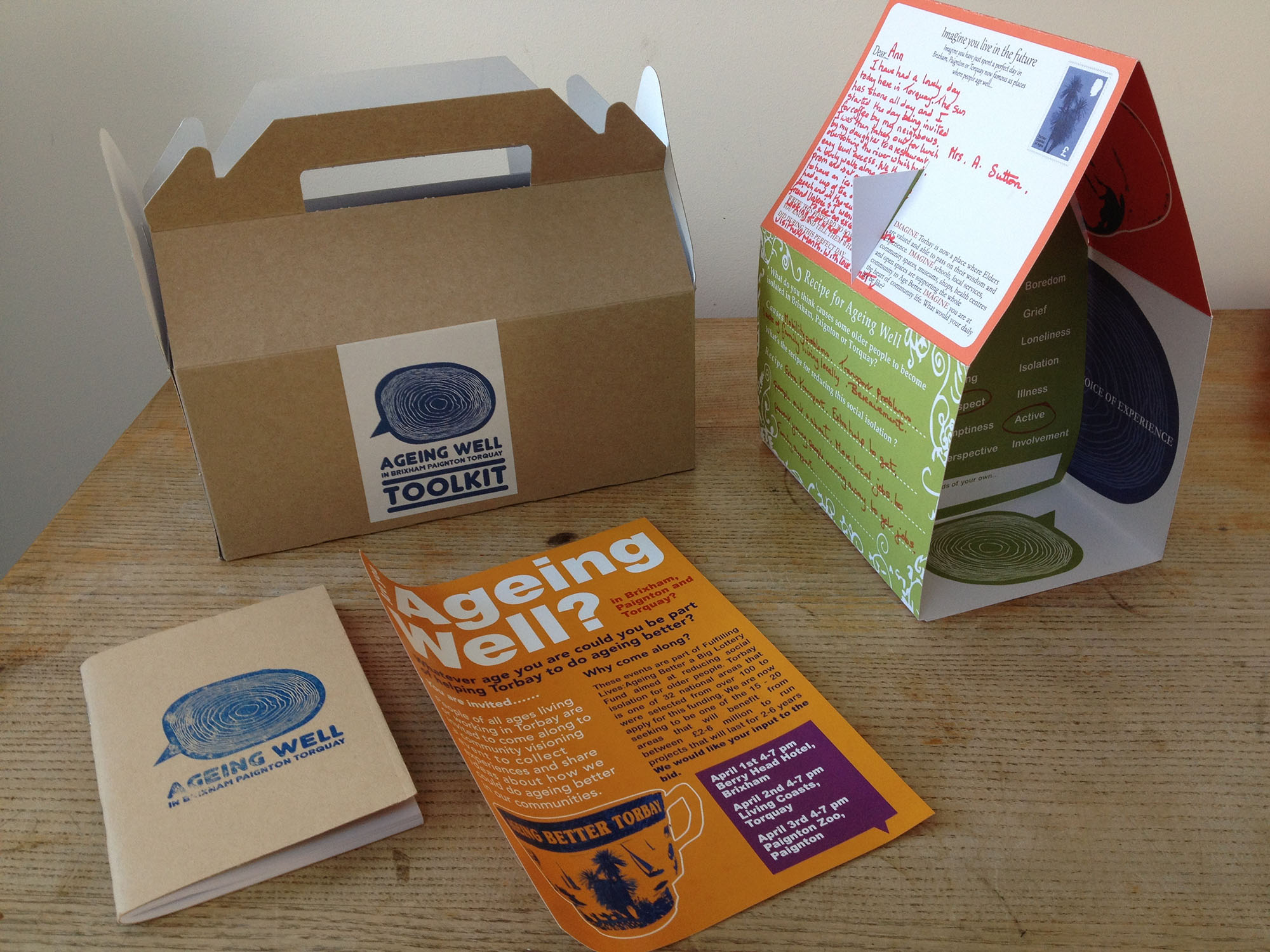 Ageing Well toolkit and box