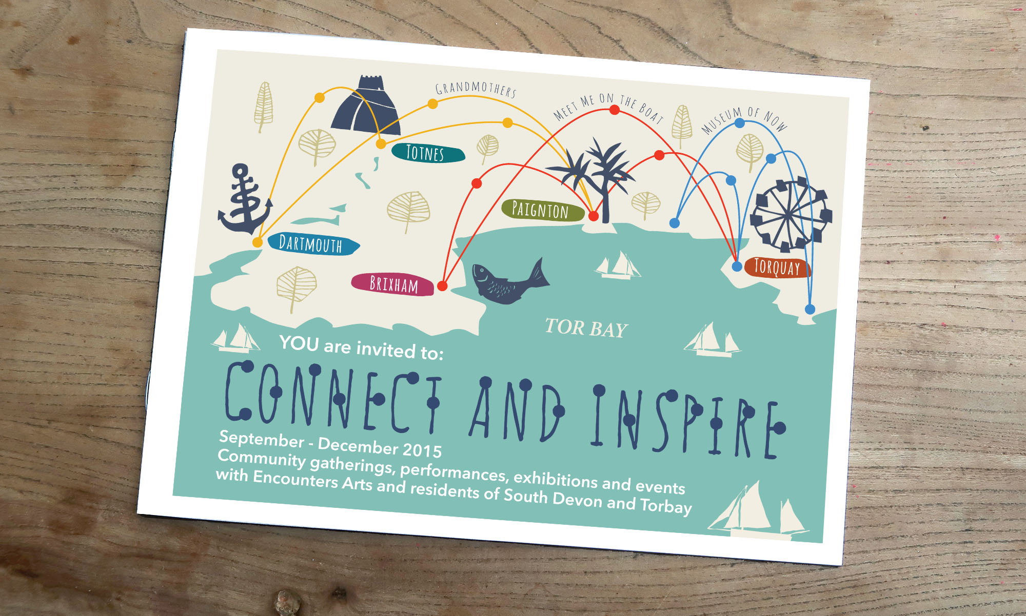 Connect and Inspire booklet/programme