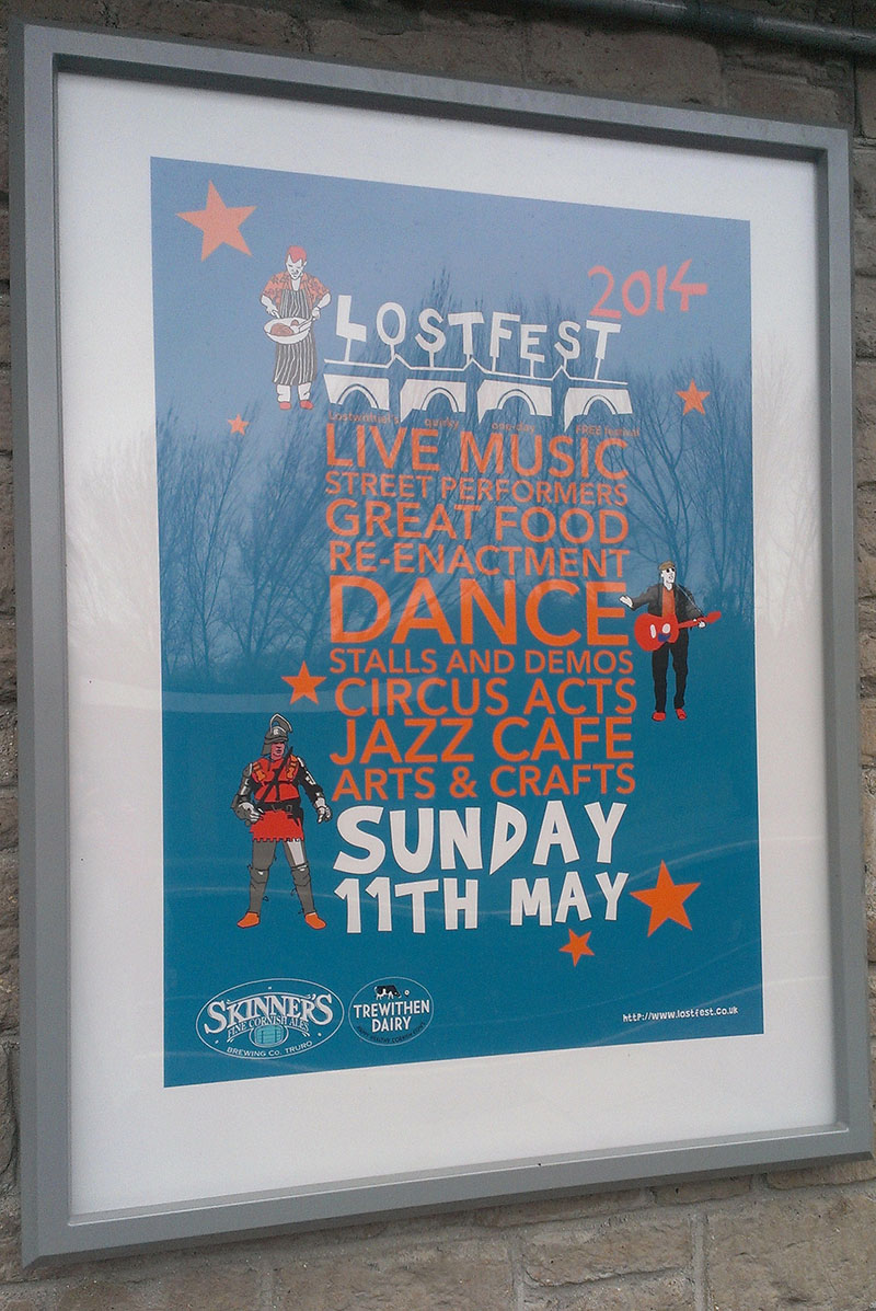 Lostfest station poster