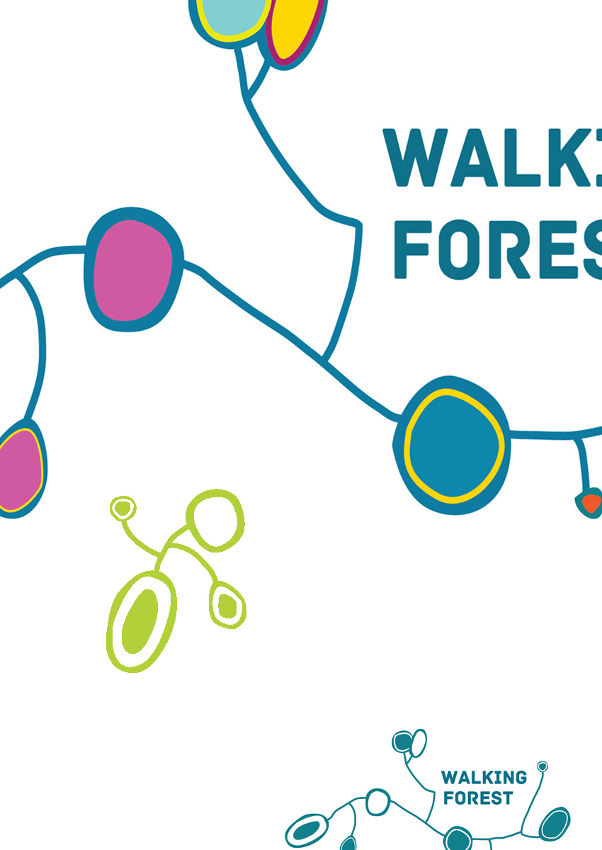 Walking Forest Logo/Brand ID